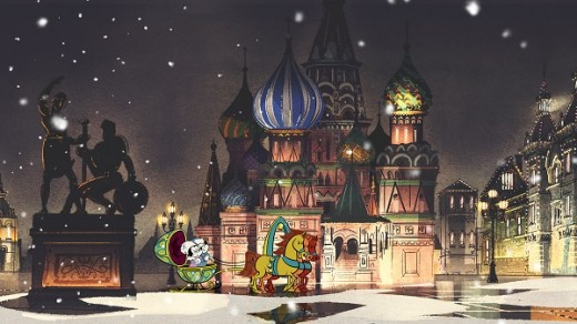 Канал Disney покажет приключения Микки и Минни в Москве!