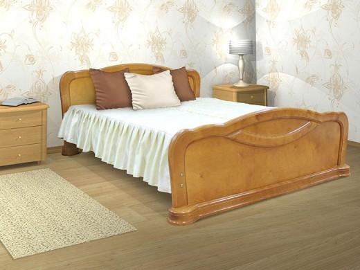 Удобные кровати из массива березы