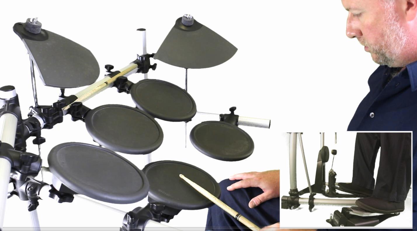 Как научиться играть на барабанах с нуля в домашних условиях