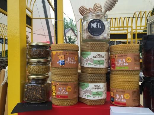 С 13 по 14 августа на Летнем рынке ВДНХ «Фермерия» состоялся праздник свежего меда.