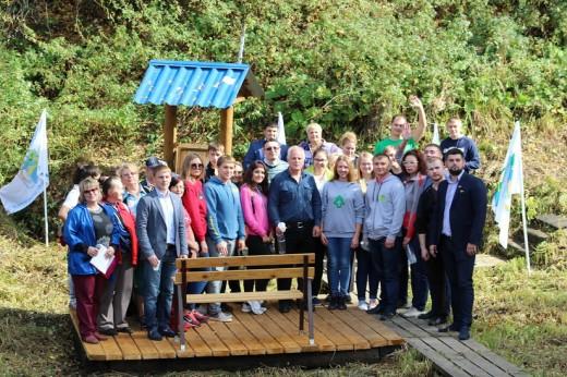 В Новосибирской области завершается очередной этап социальной проекта «Обустроим родники вместе!»
