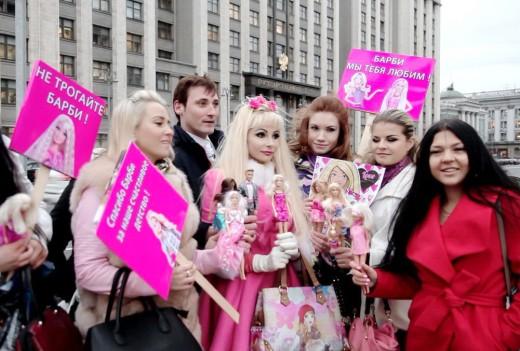 Наложат ли запрет на куклу Барби?