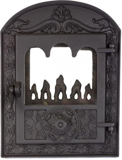Как выбрать дверцу для камина