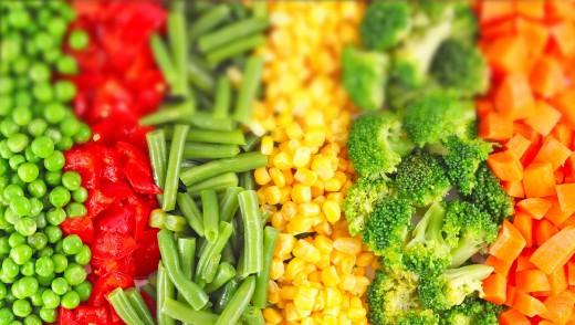 Замороженные овощи: цена за витамины