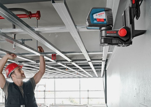 Монтаж каркаса для подвесного потолка