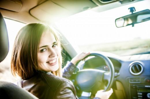 Женщины России за рулём больше 80-ти лет