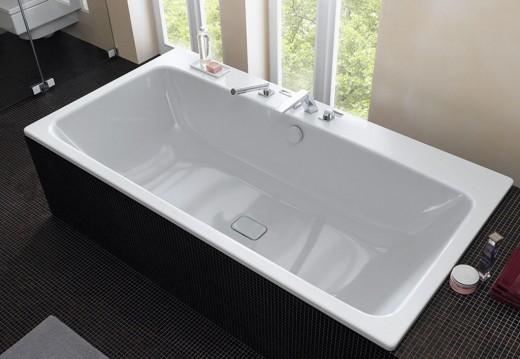 Виды и преимущества стальных ванн