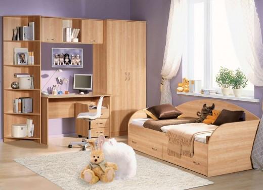 Как выбрать мебель в маленькую детскую