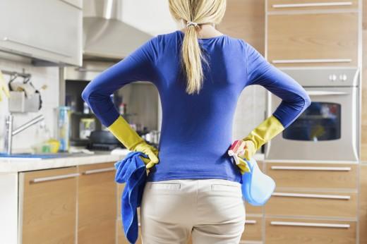 Услуги по уборке квартир и домов