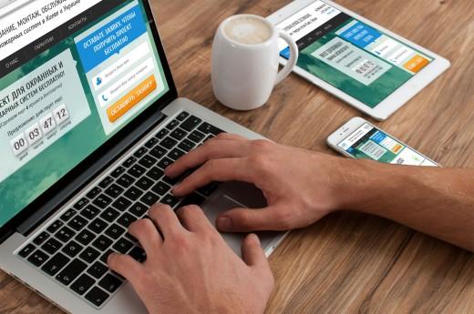 Современный сайт-визитка — особенности