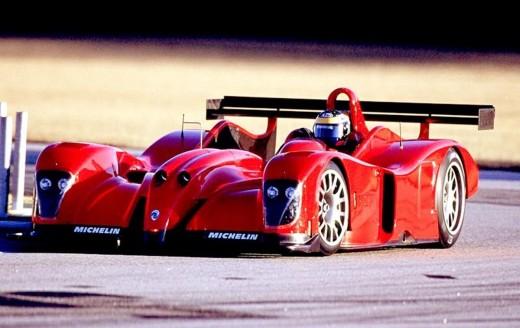 Спортивный автомобиль Panoz LMP07