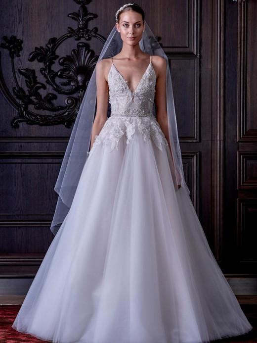 Актуальные свадебные платья 2017 года