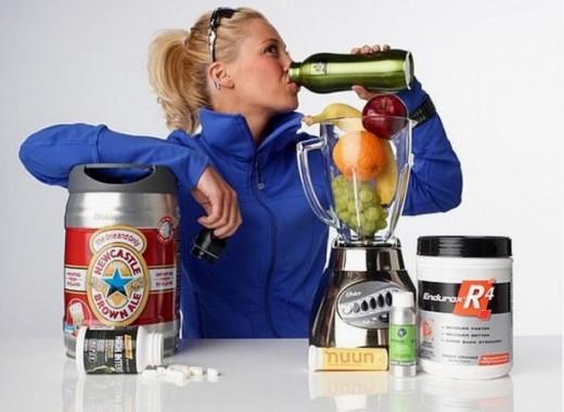 Основные виды спортивного питания