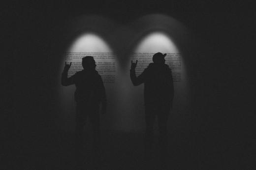 Антон Долин и Евгений Григорьев на специальном показе фильма «Про рок»