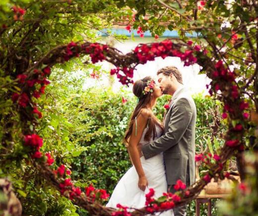 Цветовые тренды для свадьбы 2018