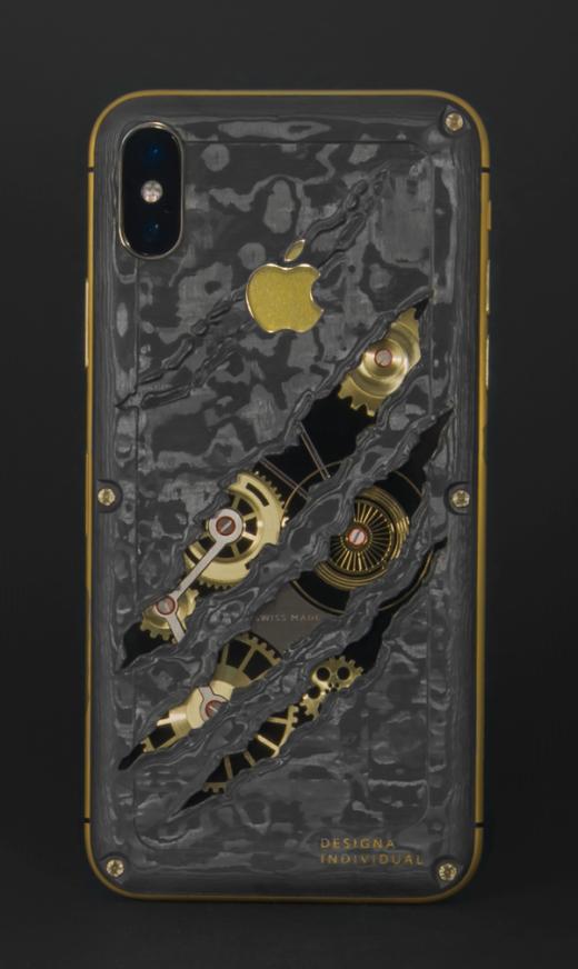 Новым шедевром в коллекции Designa Individual стал iPhone X Chrono