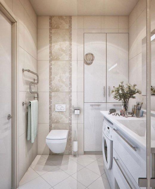 Идеи для небольшой ванной комнаты