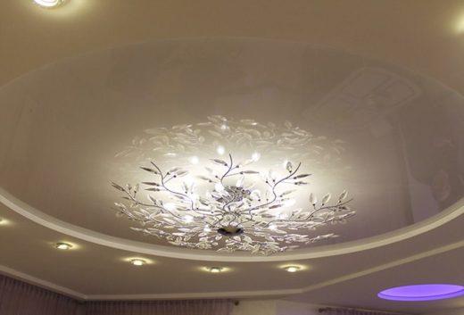 Правила выбора осветительных приборов для натяжных потолков