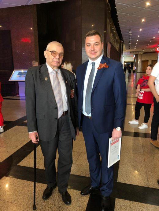 Петр Попов принял участие в старте «Класса добра»