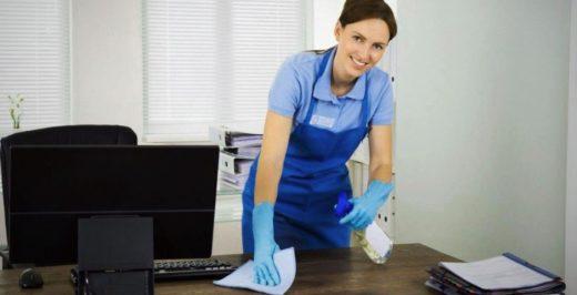 Наиболее часто предлагаемые услуги по уборке