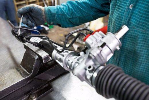 Обслуживание и ремонт рулевых реек