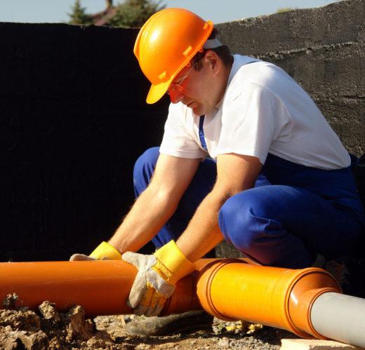 Монтаж канализационных труб в Краснодаре