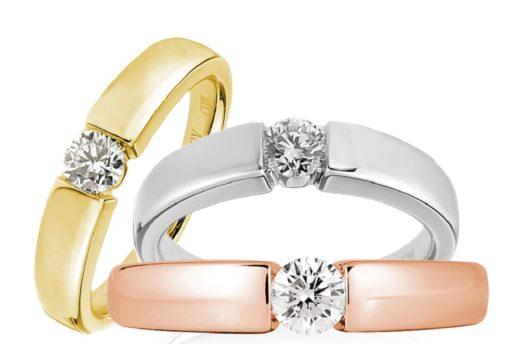 розовое белое и желтое золото