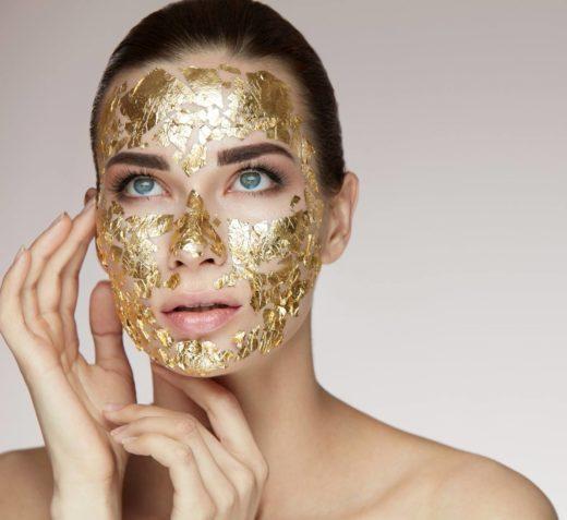 Маски с золотом - роскошь для вашего лица