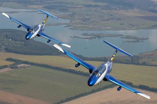 Полет на реактивном самолете