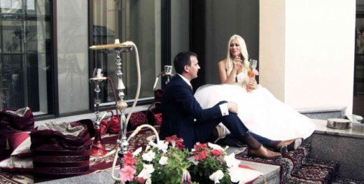 Кальян на свадьбе - сделает ее незабываемой