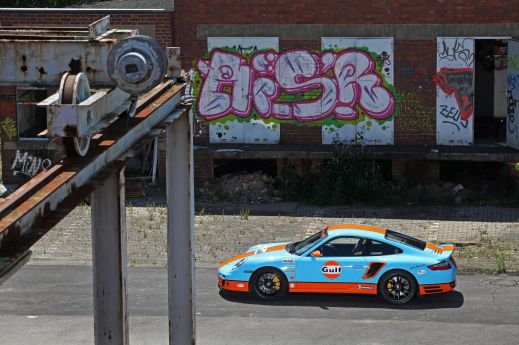 Porsche 911 (997) Turbo от ателье Cam Shaft и 9ff