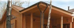 Сложности строительства домов из бруса