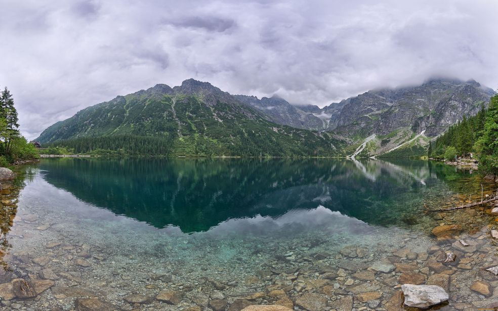 5 самых красивых озер мира