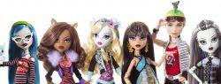 Новинки в мире кукол — куклы Монстр Хай