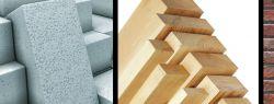Лучшие материалы для строительства домов