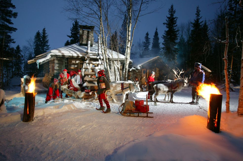 Рованиеми. Резиденция Санта Клауса