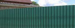 Как выглядит современный забор