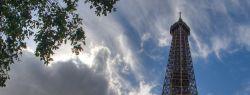 Эйфелева башня в HDR фото