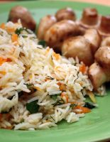 Постный рис (фоторецепт)