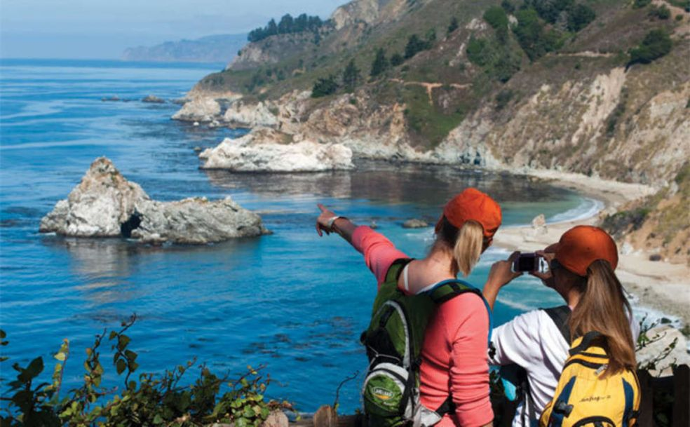 Big Sur — 90 миль красивейших пейзажей и пляжей