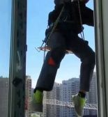 Замена стеклопакетов на высоте