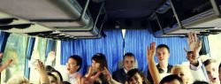 Транспорт компании «Аллегро» привлекли для перевозки выпускников города