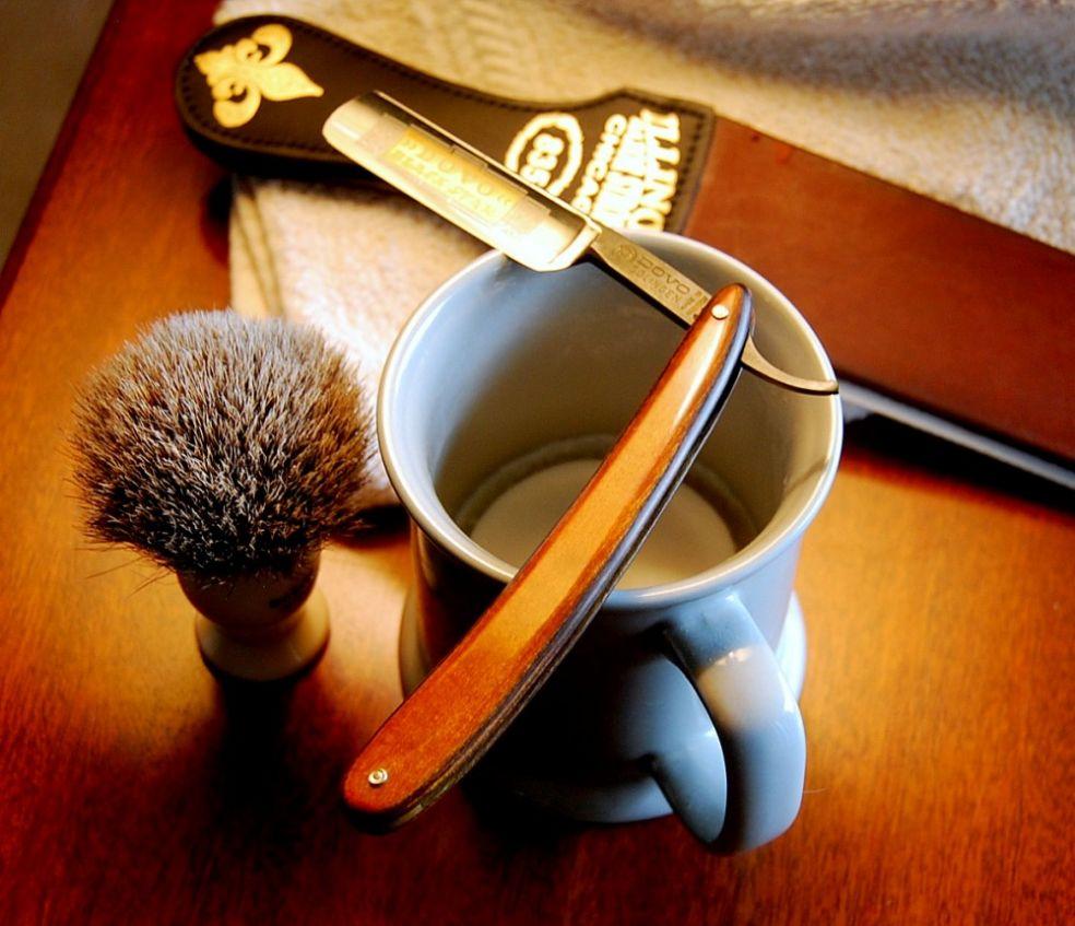 Бритье опасной бритвой: 12 важных правил