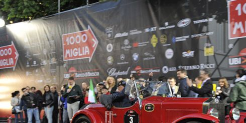 Ретро ралли «Mille Miglia» (фото)
