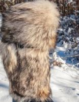 Мужские унты из волка — отличный вариант