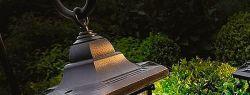 Парковые светильники: цена – демократичная, ассортимент – огромный