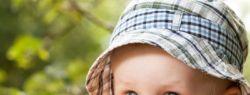 Какими должны быть летние головные уборы для детей