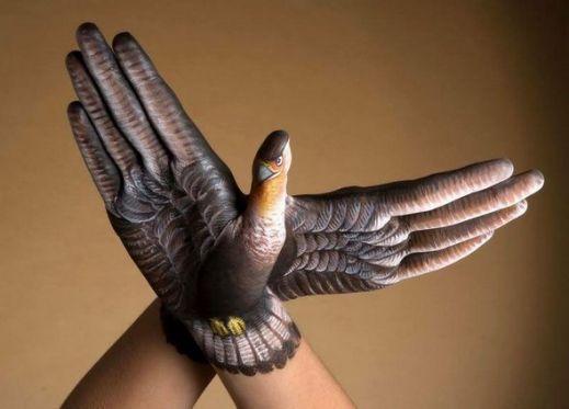 Роспись на руках
