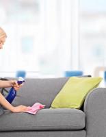 Как избавиться от пятен на диване