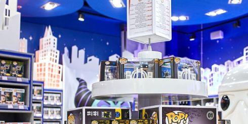 В Москве 22 февраля в магазине Мир Hamleys открылся shop-in-shop Funko